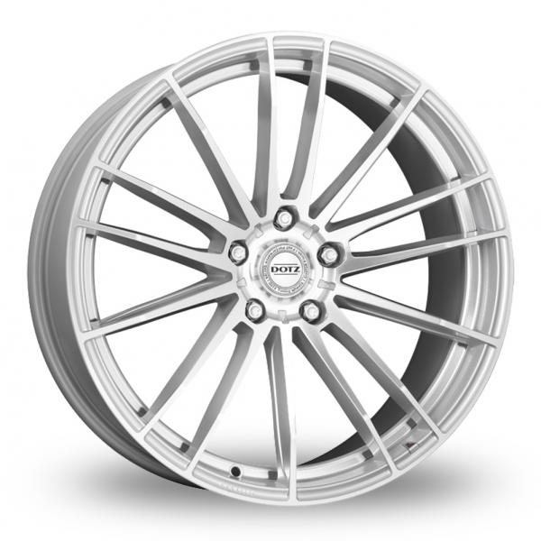 Zoom Dotz Fast_Fifteen_5x112_Wider_Rear Silver_Polished Alloys