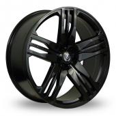Axe EX22 Black Alloy Wheels