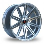 Image for Axe EX15_5x100_Wider_Rear Silver_Polished Alloy Wheels