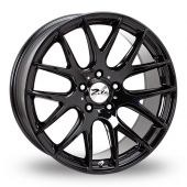 Image for Zito ZL935_5x120_Low_Wider_Rear Black Alloy Wheels