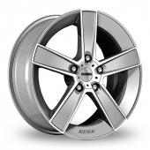Image for Momo Strike_2 Silver_Polished Alloy Wheels