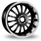 "20"" Team Dynamics Equinox II Black Alloy Wheels"
