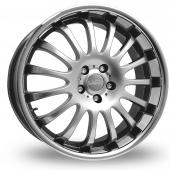 Team Dynamics Equinox II Hi Power Silver Alloy Wheels