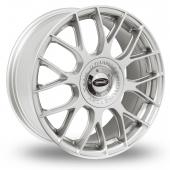 Team Dynamics Imola Hi Power Silver Alloy Wheels