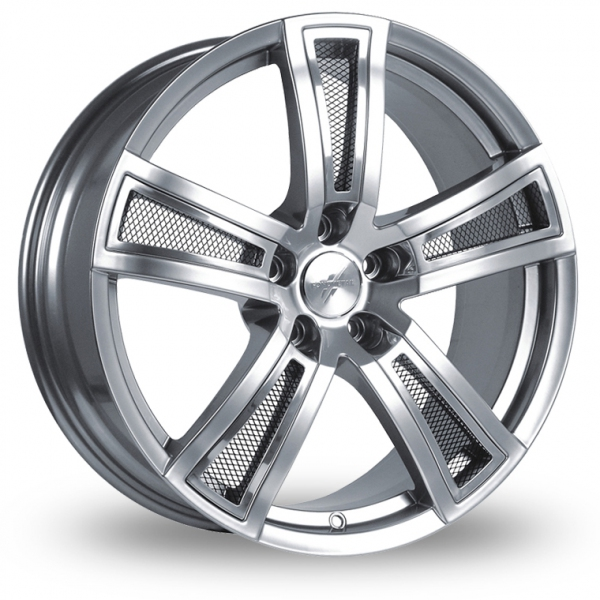 Zoom Fondmetal Tech_6 Silver_Polished_Mesh Alloys