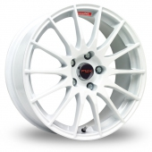 Image for Fox_Racing FX004 White Alloy Wheels