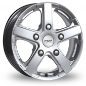 Image for Fox_Racing Viper_Van Silver Alloy Wheels