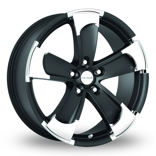 Zoom Radius R14 Black Alloys