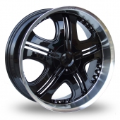 Image for Axe Cruz Black Alloy Wheels