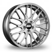 BBS CS 5 Silver Alloy Wheels