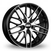 BBS CS 5 Black Polished Alloy Wheels