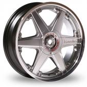 Lenso Reizen Hyper Silver Alloy Wheels