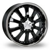 Image for Zito Derosa Black Alloy Wheels