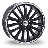 Image for Zito Orlando Black Alloy Wheels