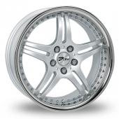 Image for Zito Titan Silver Alloy Wheels