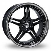 Image for Zito Titan Black Alloy Wheels