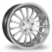 Team Dynamics Equinox Hi Power Silver Alloy Wheels
