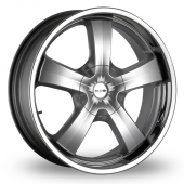 Image for MAK G-Five Hyper_Silver Alloy Wheels