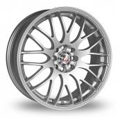Calibre Motion 2 Silver Alloy Wheels
