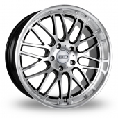 Image for Dotz Mugello_5x120_Low_Wider_Rear Black_Polished Alloy Wheels