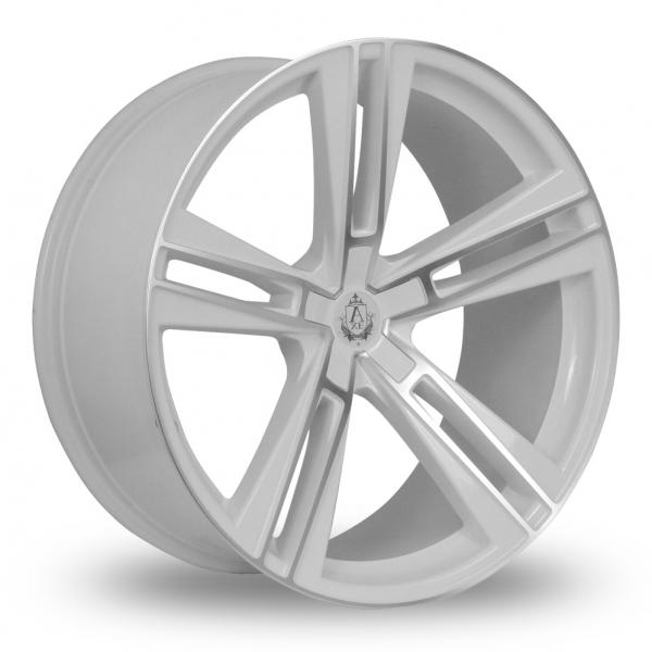 Zoom Axe EX21_Wider_Rear White_Polished Alloys