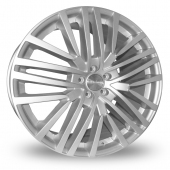 Image for Alkatec 22 Silver Alloy Wheels