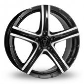 Image for Wolfrace Quinto_SUV Black_Polished Alloy Wheels