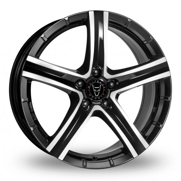 Zoom Wolfrace Quinto_SUV Black_Polished Alloys