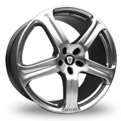 Image for Revere WC1 Silver Alloy Wheels