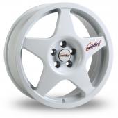 Image for Speedline Challenge White Alloy Wheels