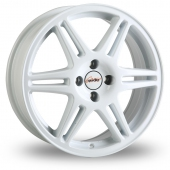 Image for Speedline Chrono White Alloy Wheels