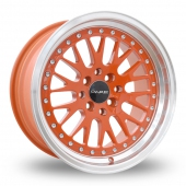 Dare DCC Orange Alloy Wheels