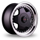Dare DR-B Black Polished Alloy Wheels