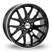 Zito ZL935 Black Polished Alloy Wheels