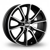 BBS SV Black Polished Alloy Wheels