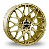 BBS RX-R Gold Alloy Wheels