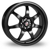 Calibre Pro 7 Black Alloy Wheels