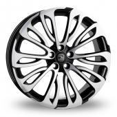 Hawke Halcyon Black Polished Alloy Wheels