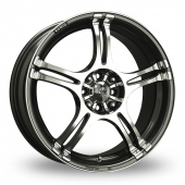 Konig Incident Graphite Polished Alloy Wheels