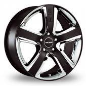Radius R12 Sport Black Alloy Wheels