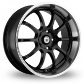 Konig Lightning Black Alloy Wheels