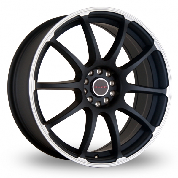 Zoom Dare Drift_RZ Matt_Black Alloys
