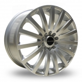Image for Dare Madisson Silver Alloy Wheels