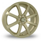 Image for Dare Tuner_2 Gold Alloy Wheels