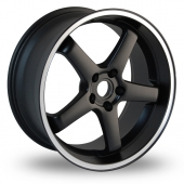 Dare Hiro Black Alloy Wheels