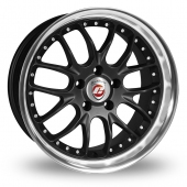 Image for Calibre Excaliber Black Alloy Wheels