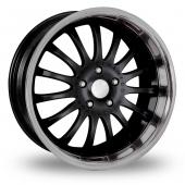 Team Dynamics Equinox Black Alloy Wheels