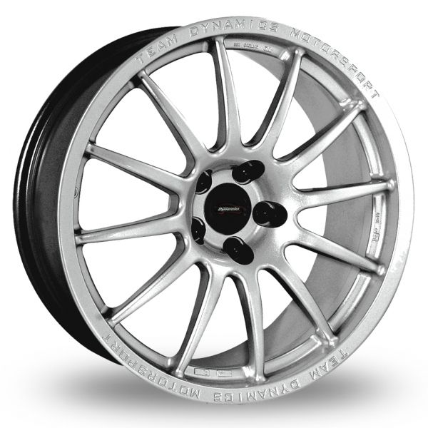 team dynamics pro race 1 2 silver 16 alloy wheels wheelbase. Black Bedroom Furniture Sets. Home Design Ideas