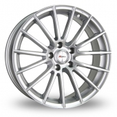 Image for Xtreme X12 Silver Alloy Wheels