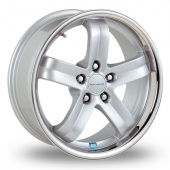 Image for Radius R8_5x120_Wider_Rear Silver Alloy Wheels